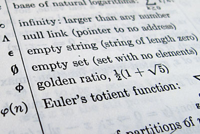 empty set symbol, Knuth, Fundamental Algorithms, 2nd ed.